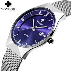 New Men Watches Top Brand Luxury 50m Waterproof Ultra Thin Date Clock Male Steel Strap Casual Quartz Watch Men Wrist Sport Watch Like and Share if you agree!  #shop #beauty #Woman's fashion #Products #Watch