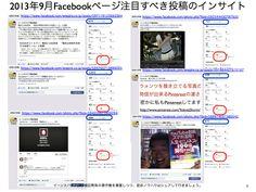 2013年9月度Facebookページ投稿いいね数ランキング20 yokotashurin.com/...