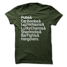View images & photos of St. Patty Day To-Do List t-shirts & hoodies