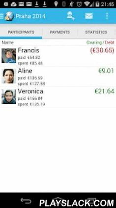 Travel Money  Android App - playslack.com , Travel Money tracks your expenses and manages the spendings of a group of people. It is especially useful while travelling and using different currencies.It tells you how much each person owns or owes other people in the group. It supports exchange rate conversion on the fly, online sharing and detailed statistics.This is the free version, which allows to save up to 50 payments per trip. If you like this app, you can unlock unlimited payments…