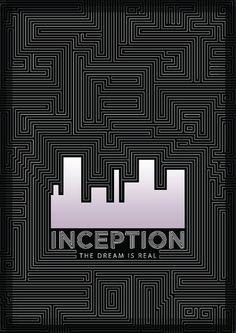 Inception Poster by JasonWStanley