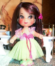 Lullabye Lime OOAK Kiddle by Spicyfyre Creations, via Flickr