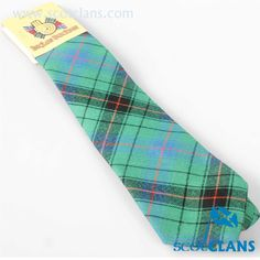 Davidson Ancient Tartan Tie. Free worldwide shipping available