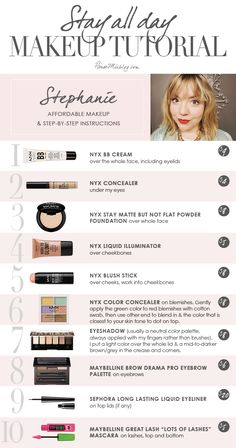 My beauty routine: Stephanie - make-up for beginners - all day . - My Beauty Routine: Stephanie – Makeup for Beginners – All Day Makeup Tutorial and Beauty Routin - Color Make, My Beauty Routine, Skincare Routine, Quick Makeup Routine, Beauty Hacks For Teens, Make Up Dupes, Makeup Tutorial For Beginners, Make Up Beginners, Makeup Products For Beginners