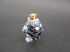 Long live the battle bears! I've had this guy laying around for awhile. Making this mini-mecha was very difficult and is super fragile! Legos, Battle Bears, Lego Pictures, Art Pictures, Lego Memes, Lego Custom Minifigures, Lego Wall, Micro Lego, Lego Army