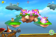 Skylander Cloud Patrol might be the next big game on iOS... Skylanders Cloud Patrol ($0.99) is a target-shooting game unlike any other at the App Store, with just the right mix of cute graphics and addictive gameplay to keep you coming back for more. The concept is simple: Tap to fire your weapon or touch-and-slide across evil little trolls to create combos as you complete short quick levels.