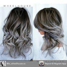 Gorgeous grey ombré