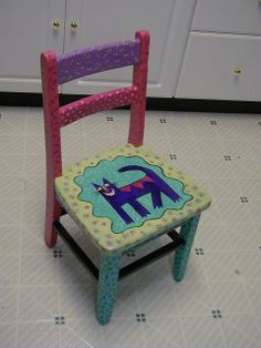 Whimsical Painted Furniture | Painted Furniture | Lisa Day Designs