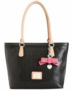 GUESS Handbag, Specks Small Classic Tote - Guess - Handbags  Accessories - Macy's