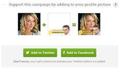 Mude sua foto de perfil para apoiar o ator (Foto: Reprodução)