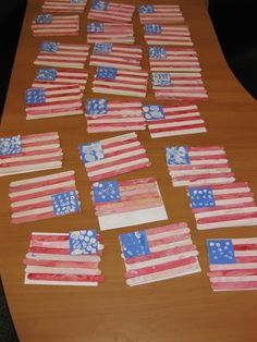 I'm always looking for a new Veteran's Day craft!