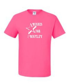 Wishes for Whitley TshirtFundraiser for local by UnlimitedImprints, $15.00