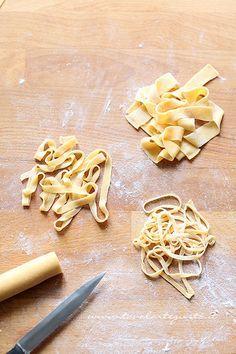 Come fare le tagliatelleall'uovo3 -  Ricetta pasta fresca fatta in casa