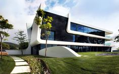 The Weave House by A-cero on the Mediterranean Coast of Spain is a luxurious contemporary residence. Enjoy!