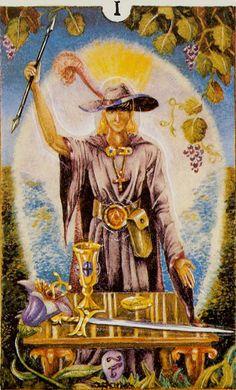 The Magician - Eclectic Tarot