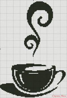 Чашка кофе. Вышивка.. Обсуждение на LiveInternet - Российский Сервис Онлайн-Дневников
