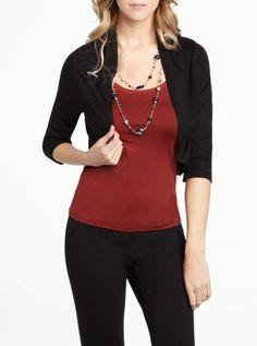 3/4 sleeve bolero | Women | Shop Online at Reitmans