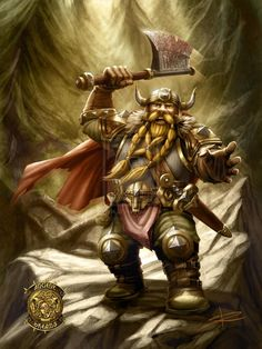 Dwarf on a mission by Sabinerich on deviantART