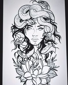back pieces drawing Irezumi Tattoos - Tattoo MAG Medusa Tattoo Design, Tattoo Design Drawings, Tattoo Designs, Irezumi Tattoos, Leg Tattoos, Body Art Tattoos, Geisha Tattoos, Tatoos, Back Piece Tattoo