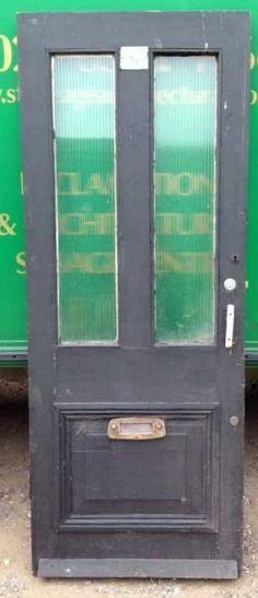 Simple Victorian - Edwardian front door