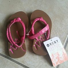 Roxy Infant girl sandals Infant girl sandals fits 12 months old brand new never been worn Roxy Shoes Sandals