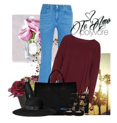 """""""#ContestOnTheGo #ContestEntry"""" by licethfashion ❤ liked on Polyvore featuring Oliver Gal Artist Co., Pier 1 Imports, STELLA McCARTNEY, Boris, Stuart Weitzman, H&M, contestentry and ContestOnTheGo"""