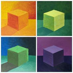 SRJC: analogous palette cubes