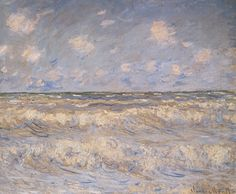 Claude Monet - Stormy Sea (1881)