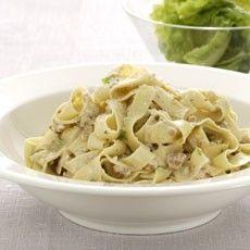 tagliatelle w/ gorgonzola & toasted walnuts // from delia online
