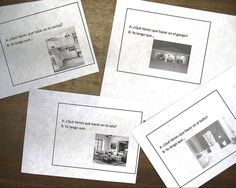 Señora Bush: Stations - More ideas for activities