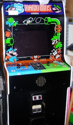 Mario Brothers Classic Arcade Game