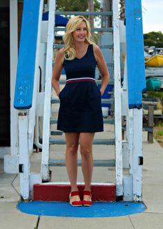 San Francisco Bay Style: Ponte Tennis Dress