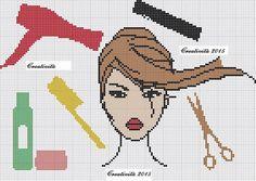 Cosmetology x stitch