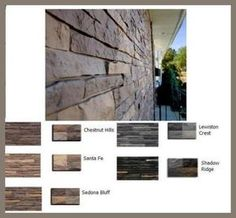 Premium Stacked Stone Mobile Home Skirting Shipped Direct