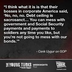 Cenk Uygur host of The Young Turks on Current TV on the GOP