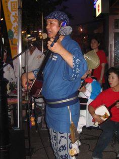 awa odori oban matsuri tokushima shikoku 2006 japan awa dance natsu music is addicting