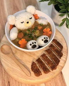 Cute Baking, Japanese Curry, Cute Desserts, Cafe Food, Food Food, Cute Cakes, Aesthetic Food, Cookies Et Biscuits, Korean Food