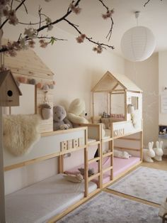 19 Ikea Kura Bed Hacks your Kids will Love – james and catrin Ikea have created a wonderful toddlers bed that is perfect for customising in whatever way you like. You can hack the Ikea KURA bed to . Kura Bed Hack, Ikea Kura Hack, Ikea Kura Bed, Ikea Hacks, Ikea Twin Bed, Ikea Hack Kids, Ikea Kids Room, Ikea Beds For Kids, Ikea Toddler Room