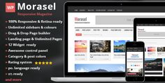 Review Morasel - Responsive News and Magazine WordPressso please read the important details before your purchasing anyway here is the best buy