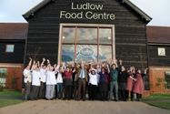 Ludlow Food Centre is located just outside of Ludlow (to the North on the A49). If you are a foodie it is worthwhile making it a stop on your journey. It doesn't beat a visit to Ludlow with all it's unique shops, but it does have some nice produce. #Shropshire