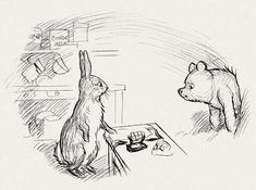 E.H. Shepard's Original Winnie the Pooh Drawings from the Winnie-the- Pooh books by A. A. Milne