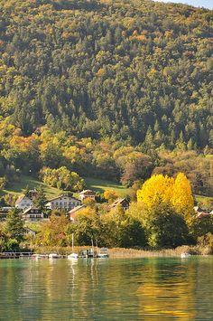Annecy Lake, Rhone-Alpes, France