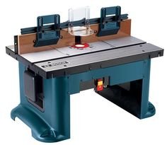 Portable Benchtop Router Table Surface For Woodworking W/dust Collection Port
