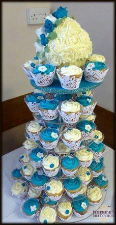 Giant cupcake and cupcake tower, Wedding cake