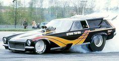 """The Godfather"" Vega Panel Wagon of Indiana's Steve Tansy, circa 1972-73."