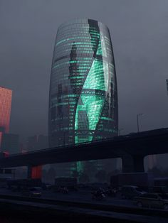 Gallery of Zaha Hadid Architects Releases Images of Tower with the World's Tallest Atrium - 2