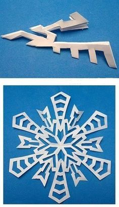 Creative Ideas - 8 Easy Paper Snowflake Templates | iCreativeIdeas.com Follow Us on Facebook --> https://www.facebook.com/iCreativeIdeas