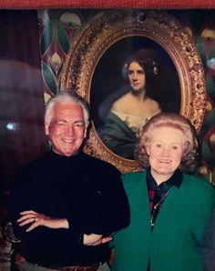 Dame Joan Sutherland & husband Richard Bonynge