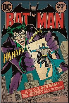 Batman Comic Wall Decal  $39.00