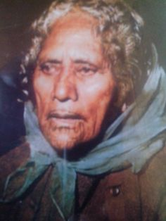 Our nanny (my great-grandmother's younger sister): Kuia Aporonia Pohe in her old age, from Ngāti Rongomai, Ngāti Pikiao. Lived in Ngāpuna where her tane was from. Old Age, Kos, Sisters, Culture, Tattoo, Fictional Characters, Maori, Tattoos, Fantasy Characters
